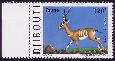 Djibouti Dschibuti 1999 Gazelle, Mnh, Sc 792a, Mi 675