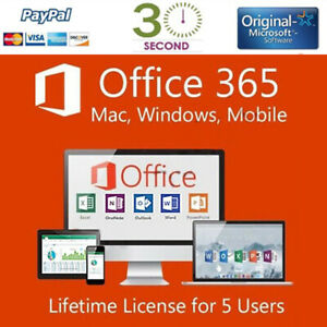Microsoft-Office-365-2016-PRO-PLUS-Lifetime-license-5-device-Shipping-30-Sec