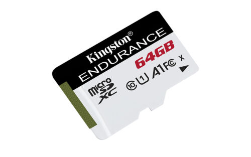 64GB Kingston High Endurance microSD Memory Card CL10 UHS-I