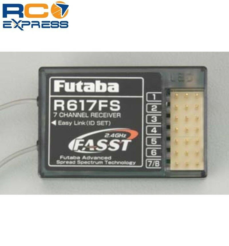 Futaba R617FS 7-Channel FASST Receiver FUTR617FS