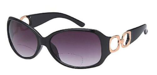 Ladies hinged Bifocal Sunglasses PR89 with pouch and cloth in various colours