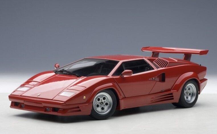 74534 AUTOart 1 18 Lamborghini counterk 25th anniversary red
