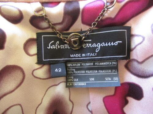 Ferragamo Salvatore Taglia Rosa 59 42 Giacca A 75qwnUd