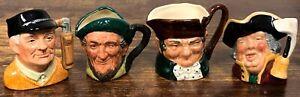 4 VTG Royal Doulton Toby Jug Creamers – Auld Mac, Golfer, Town Crier ETC! 128