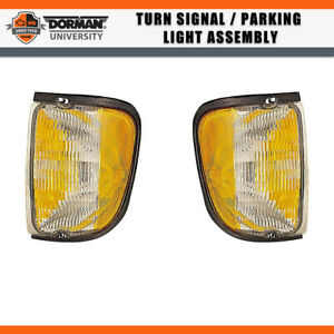 1 PC Front Right Turn Signal Parking Light Assembly Dorman For 99 FORD RANGER