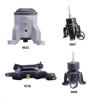 K732 Fit 2011-2014 Nissan Quest 3.5L Engine Motor /& Trans Mount Set 3PCS