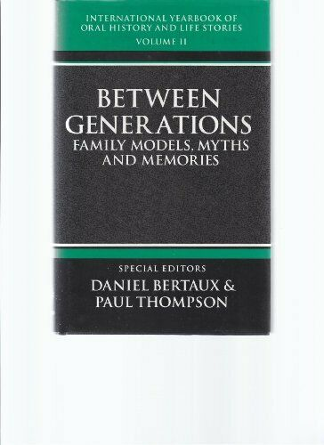 International Yearbook of Oral History and Life Stories  Volume II  B
