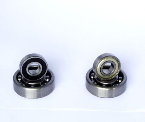 Kugellager Rillenkugellager 6001 ZZ o. 2RS Auswahl  12x28x8 mm Indsutrie