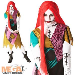 Sally Nightmare Before Christmas Ladies Fancy Dress Halloween ...