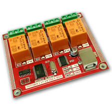 Kmtronic Usb 4 Channel Relay Board Rs232 Serial Controlled Pcb