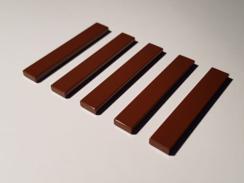 LEGO® 5 x 6636 Fliese 1 x 6 rotbraun 4211204 Star Wars Reddish Brown #C69