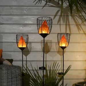 Solar-Novelty-Fire-Flame-Torch-Lantern-LED-Stake-Light-Garden-Party-Outdoor