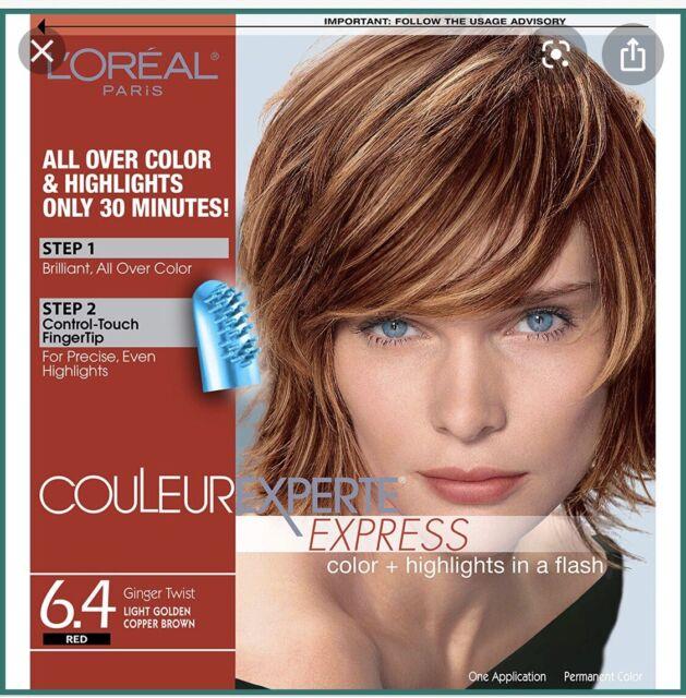 L'Oreal Paris Couleur Experte Highlight 6.4 Ginger Twist/light Golden Copper Brn