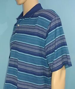 PGA-Tour-Blue-Polo-Golf-Shirt-Size-2XL-2XLarge-A7
