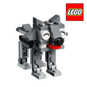 LEGO-POLYBAG-40331-LUPO-GRIGIO-GREY-WOLF-DOG-Monthly-PROMO-EXCLUSIVE