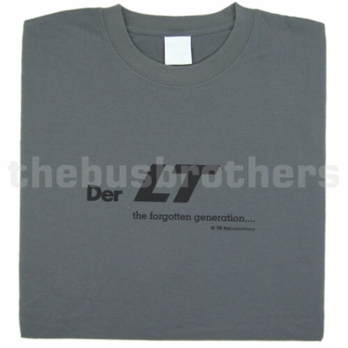 Bus Brothers LT Transporter Motorhome Camper Grey Mens T Shirt Tee VW Volkswagen