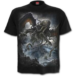 Spiral-Direct-Cthulhu-Old-Ones-Leviathan-Lovecraft-Black-Short-Sleeved-Tshirt