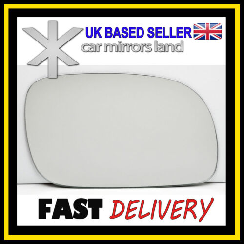 Right  Wing Car Mirror Glass Replacement CHRYSLER VOYAGER 1996-2007 Stick ON