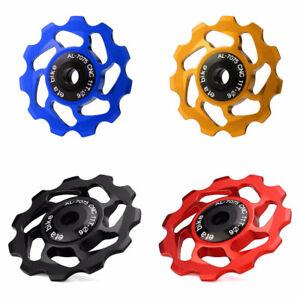 11-Tooth-MTB-Ceramic-Bearing-Jockey-Wheel-Pulley-Road-Bicycle-Bike-Derailleur