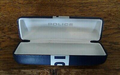 Police Occhiali Custodia Per Occhiali Da Vista E Piccoli Occhiali Da Sole Medio Usato-mostra Il Titolo Originale Vincere Elogi Calorosi Dai Clienti