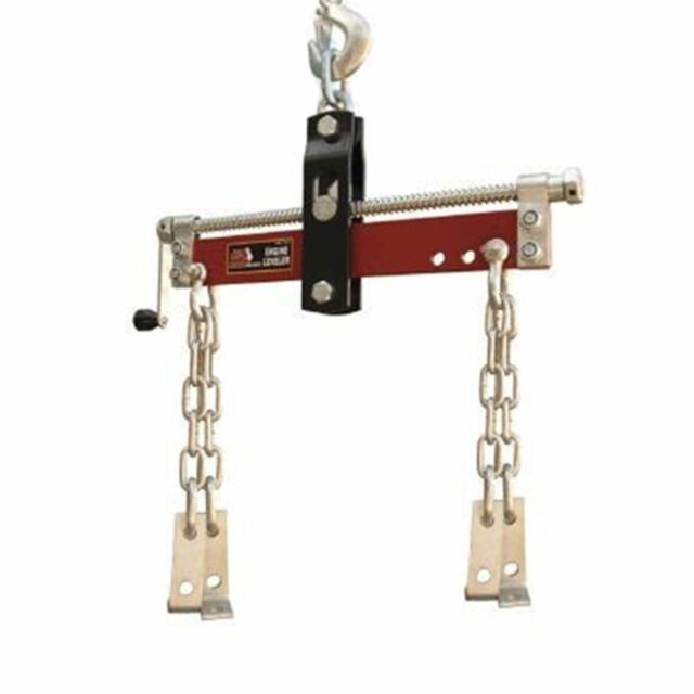 heavy duty engine hoist leveler cherry picker shop crane  lbs load lift tool  sale ebay