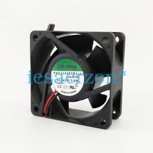For-SUNON-PMD2406PTB3-A-Double-ball-Cooling-fan-DC24V-2-5W-0-1A-60x60x25mm-2pin