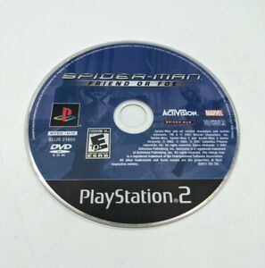Spiderman Friend or Foe for Ps2 Disc Only Sony PlayStation 2 Tested!