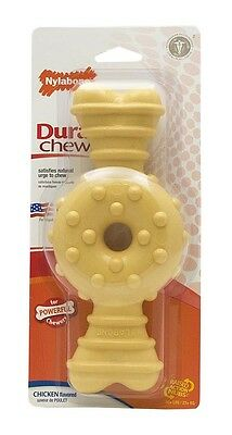 NYLABONE DURA CHEW RING BONE  Super Tough Powerful Chewers Dog Chew Toy Made USA