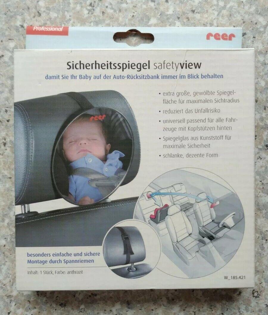 Reer SafetyView Sicherheitsspiegel Baby-Rückspiegel Autospiegel 8601