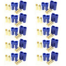 10 Pairs EC5 Device Connector Plug for RC Car Plane Helicopter Battery Lipo ESC