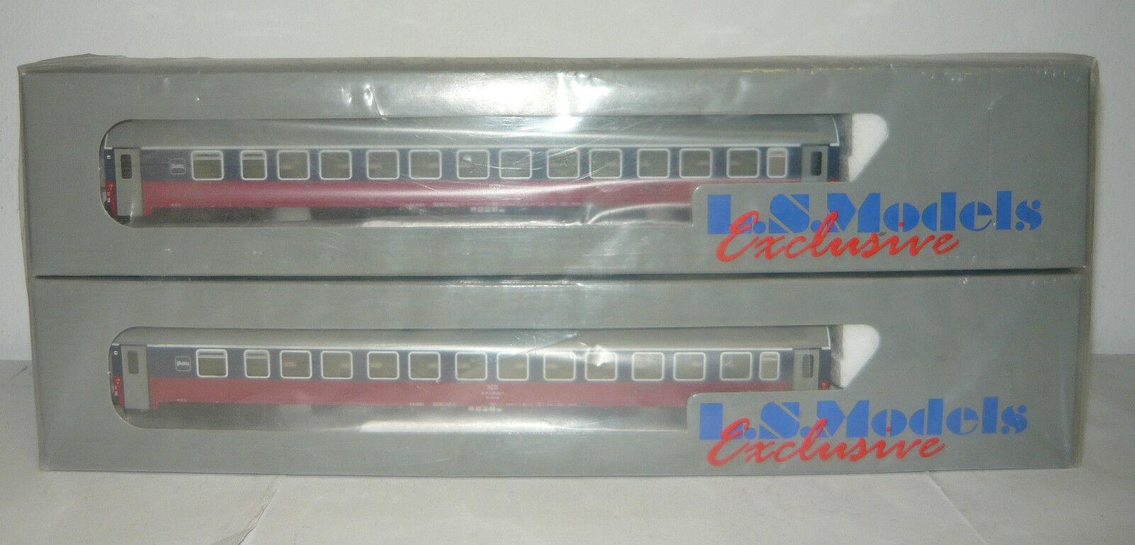 L.S. Models 58012, 2 pezzi sonno Wagenset, WLABmee, RZD, Epoca V, TT, neu&ovp