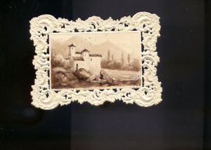 PETITE PEINTURE LAVIS PAYSAGE ITALIEN MONOGRAMME DATE 1840 | eBay