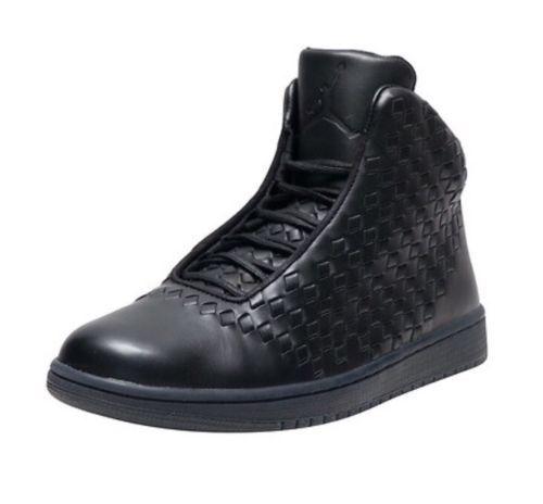 Nike air jordan shine, tessuti, ciao basket uomini scarpe neri 689480-010 11 nuove dimensioni