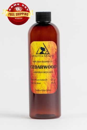 CEDARWOOD ESSENTIAL OIL ORGANIC AROMATHERAPY 100% PURE NATURAL 12 OZ