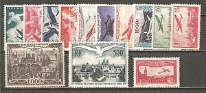 FNA2-FRANCIA-Lotto-francobolli-di-posta-aerea