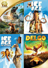 Walking with Dinosaurs/Ice Age/Ice Age: The Meltdown/Delgo DVD, 2015, 4-Disc Set
