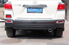 Fit For Toyota Highlander 2012 2013 ABS Chrome Rear Fog Light Lamp Cover Trim