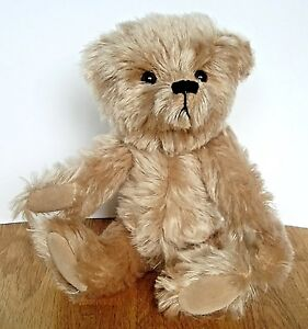 STUNNING-OOAK-Collector-Teddy-Bear-Golden-Mohair-034-Cameron-034-by-GiGi-Bears