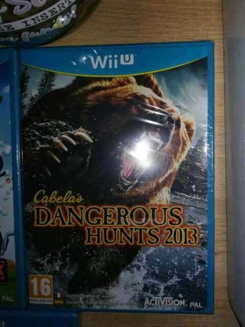 nintendo Cabela's Dangerous Hunts 2013 Wii U Neuf Blister