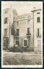 Padova Città Tipografia il Messaggero di Sant'Antonio Rovine di Guerra cartolina