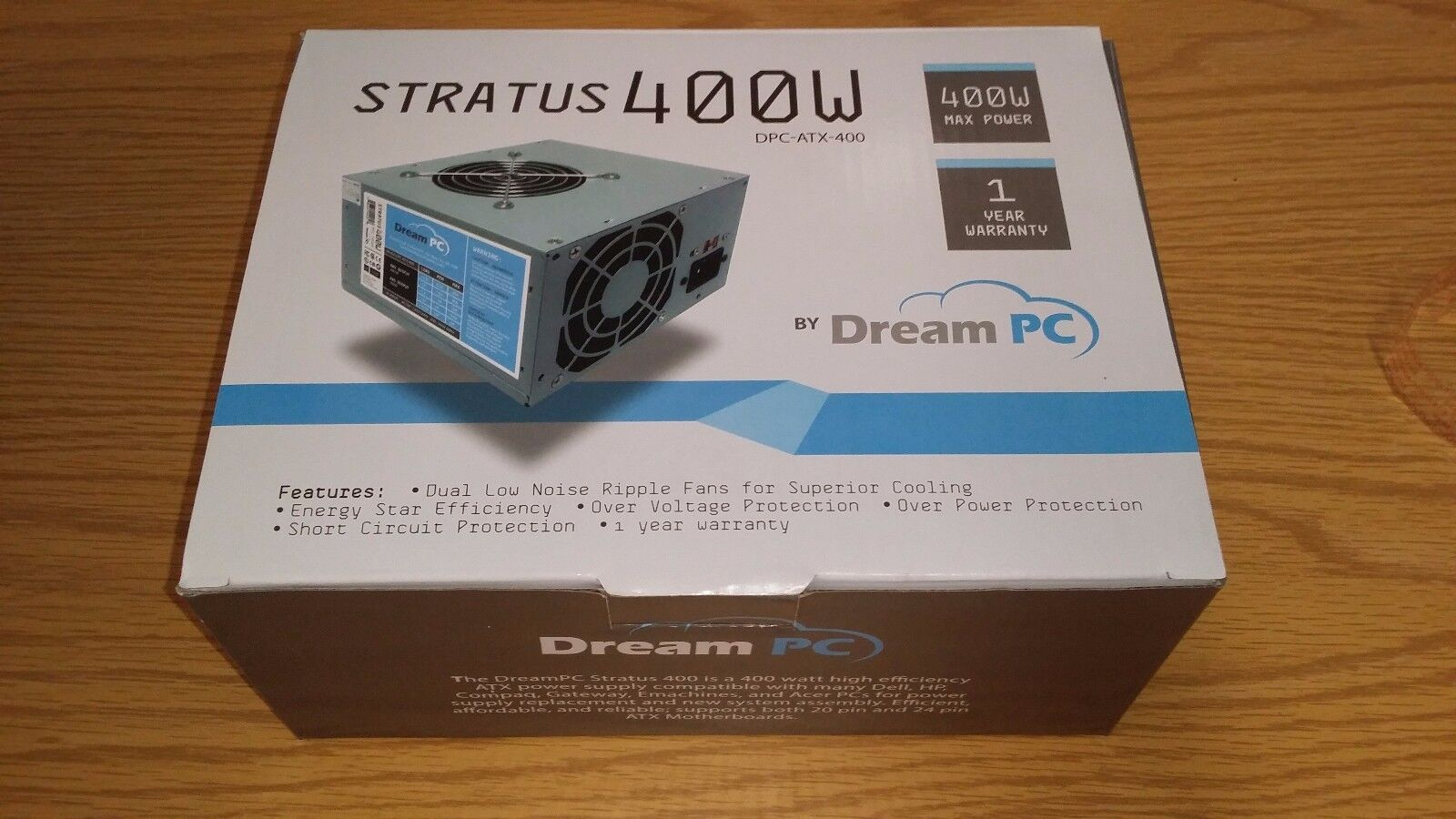New PC Power Supply Upgrade for HP Pavilion p7-1003w Desktop