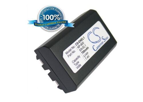 Nueva Batería Para Minolta Dg-5w Dimage A200 Np-800 Li-ion Reino Unido Stock