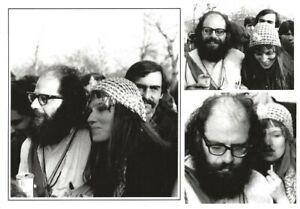 ALLEN-GINSBERG-amp-MARETTA-GREER-NYC-BE-IN-1967-BEAT-WRITERS-PHOTO-POSTCARD-92