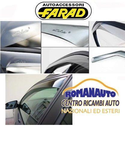 Deflettori Aria e Pioggia antiturbo G3 per Toyota IQ 3P 2009