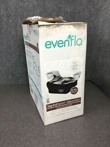 Evenflo-Big-Kid-Sport-No-Back-Booster-Car-Seat-Gray-Fractals-M57A-B