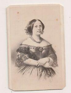 Vintage-CDV-Teresa-Cristina-of-the-Two-Sicilies-Empress-of-Brazil-Jacotin-Photo