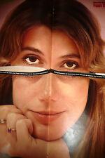 Ein 2-teiliges Peggy Lipton XL Poster 1971 Rückseite ist Joachim Fuchsberger