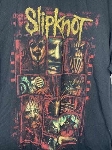 Slipknot Herren T-Shirt Prepare for Hell 2014-15 Tour schwarz