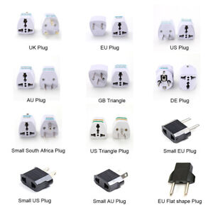 bb5759abd99 UK Travel Plug 3-Pin To EU European Euro Europe 2-Pin Socket ...