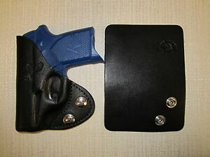 Remington RM380 leather wallet & pocket holster
